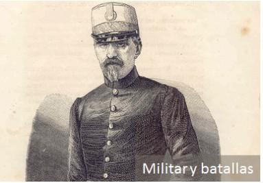 Grabados militares y batallas